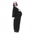 Jättelustig gravid nunna-dräkt