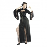 Gotisk Brud Budget Maskeraddräkt - One size