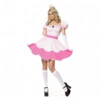 Otroligt sexig Prinsessan Peach-klänning