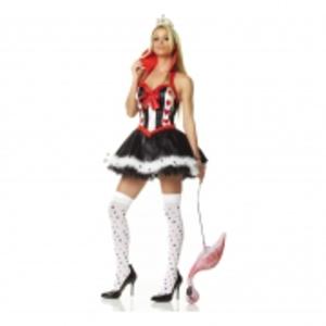 Sexig Hjärter Dam-klänning