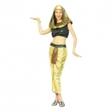 Sexig Cleopatra-dräkt