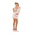 Sjuksköterska Budget Maskeraddräkt - One size