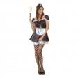 French Maid Budget Maskeraddräkt