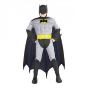 Batman med Muskler Barn Maskeraddräkt