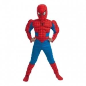 Spiderman med Muskler Barn Maskeraddräkt