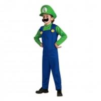 Luigi Barn Maskeraddräkt