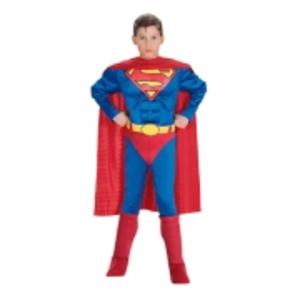 Superman med Muskler Barn Maskeraddräkt