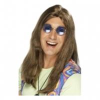 Hippieperuk till hippiekostymen