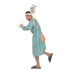 Patient på Rymmen Maskeraddräkt - One size