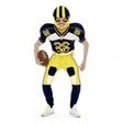 Amerikansk Fotbollskille Maskeraddräkt