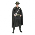 Zorro med Muskler Maskeraddräkt