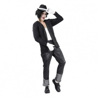 Michael Jackson Budget Maskeraddräkt