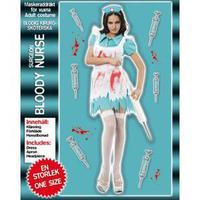 Blodig sjuksköterska
