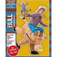 Cowboy- och tjurdräkt