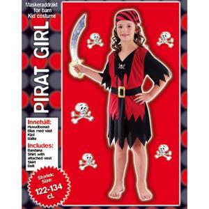 Piratdräkt för flicka