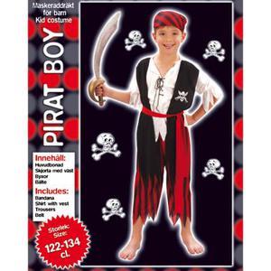 Piratdräkt för pojke