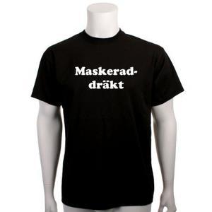 T-shirt maskerad