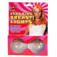 Flashing Breast Boob Lights