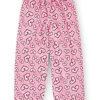 Pink Hearts Pijama Pants