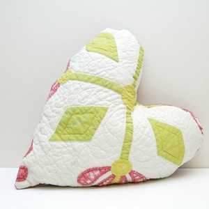 Floral Heart Pillow