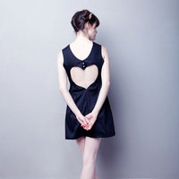 Cut Out Heart Dress