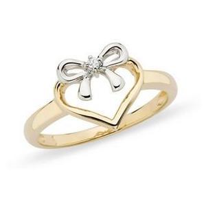 Gold & platinum diamond ring