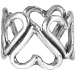 Nolan Cluster Heart Ring