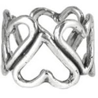Nolan Cluster Heart Ring