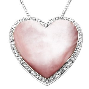 Pink Mother-of-Pearl Pendant