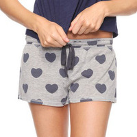 Heart PJ Short