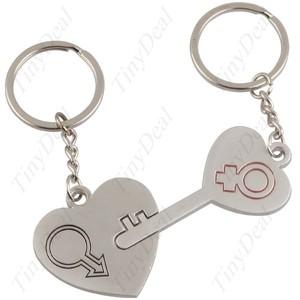 Him & Hers keychains