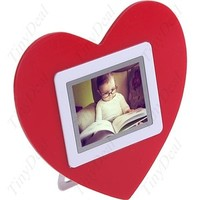 Digital Heart Photoframe
