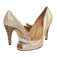 Gold shiny heart pump
