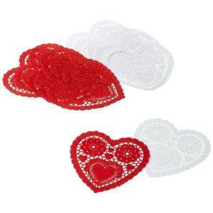 Heart Doilies Assorted Pack