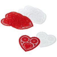 Heart Doilies Assorted Pack