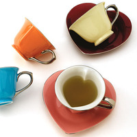 Heartshaped Teacups