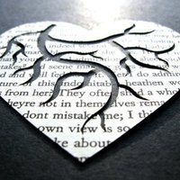 Heart Anatomy Paper Art