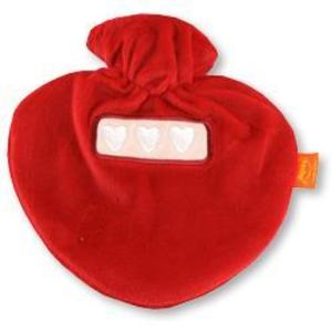Red Velour Bottle Cover