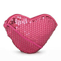 Sequin Heart Handbag