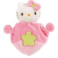 Hjärtformad snuttefilt med Hello Kitty-motiv