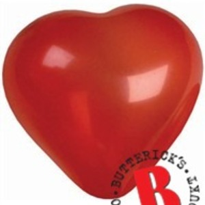 Hjärtformade ballonger