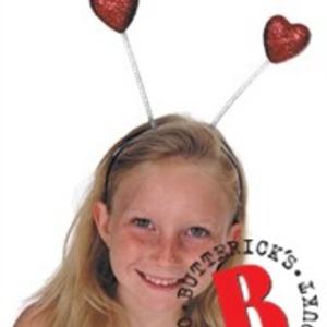 Diadem med antennhjärtan