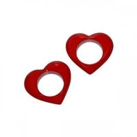 Servettringar hjärtan