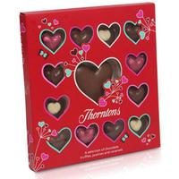 Hjärtformade praliner från Thornton