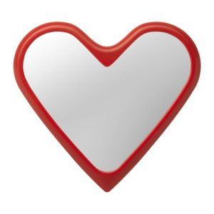 Spegel formad som ett hjärta
