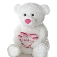 """""""I Wuv U"""" Teddy Bear"""