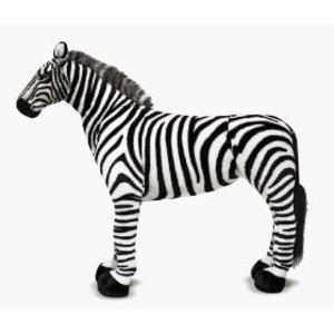 XL Zebra Plush