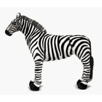 XL Zebra Plush