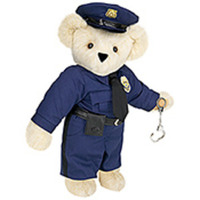 Police Officer Teddy Bear