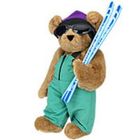 Skier Teddy Bear